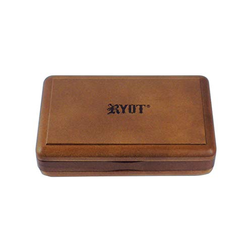 """RYOT 3x5"""" Solid Top Box in Walnut 