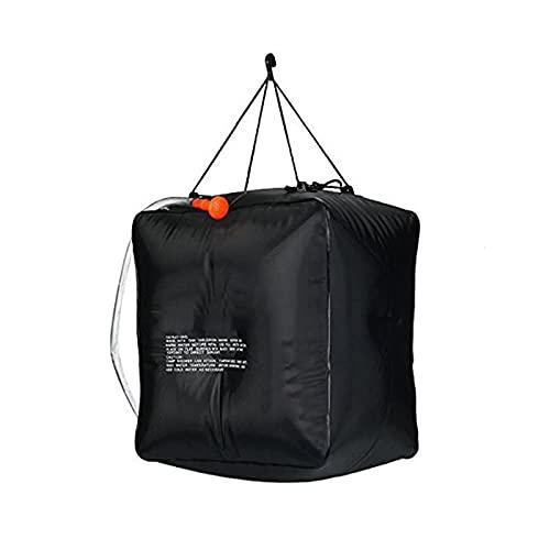キャンプ用シャワーバッグ10ガロン40lソーラーシャワーバッグ携帯用温水シャワーバッグスイッチ式シャワーヘッドのハイキングビーチ旅行