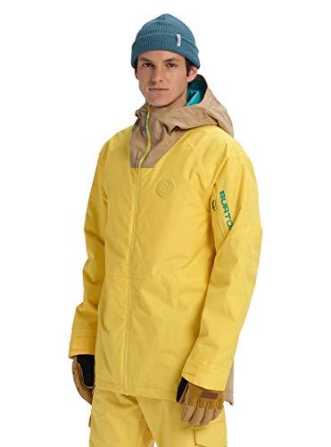 Burton Mens Hilltop Jacket, Maize/Kelp, Large