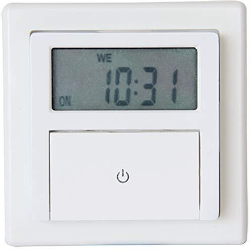 GAO EFP700ET Digitale Unterputz-Zeitschaltuhr, 8 x 5. 5 x 8 cm