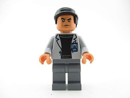 LEGO Jurassic World Doctor Dr. Wu Minifigure 75927 Fallen Kingdom Mini Fig
