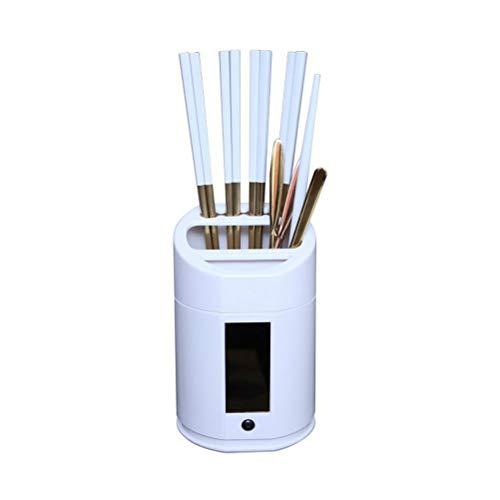 Preisvergleich Produktbild Mankoo Essstäbchen Sterilisationsröhre Intelligente,  UV-Zellsterilisator Smart Ultraviolett-Sterilisator für Geschirrreinigerbox