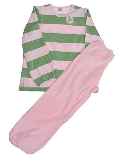 Petit Bateau Mädchen Samt Schlafanzug (94 cm)