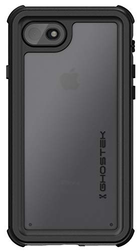 Ghostek Nautical iPhone 7, iPhone 8, iPhone SE 2020 Waterproof Case Screen Protector Built-in Heavy Duty Protection Full Body Underwater Watertight Seal iPhone 7/8, iPhone SE 2020 (4.7 Inch) - Black