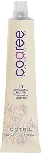 Cotril Coaree tinta per capelli 8,13 Biondo Chiaro Cenere Dorato 100ml senza ammoniaca, PPD, Parabeni, Profumo