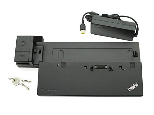 Lenovo Docking Station inkl. Netzteil (90W) Ultra Dock Original ThinkPad T550 Serie (Generalüberholt)