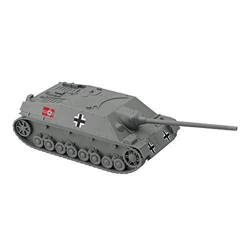 BMC WW2 German Jagdpanzer IV Tank Destroyer - Gray Plastic Army Men Vehicle
