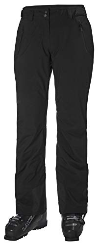 Helly-Hansen Womens Legendary Insulated Waterproof Ski Pant, 990 Black, Small