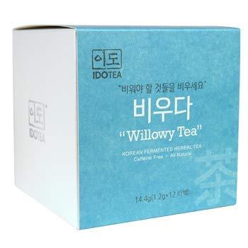 Willowy Tea for Slimming - Premium Korean Fermented Herbal Tea for Detoxification and Gut Health,...