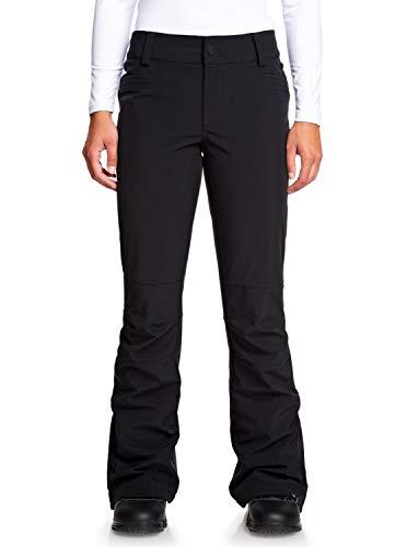 Roxy Creek-Pantalón Shell para Nieve para Mujer, True Black, M