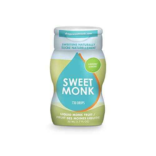 Monk Fruit Liquid Sugar Substitute. 100% Pure Monk Fruit Syrup Liquid Sweetener – 2 ounces . Monk Fruit Sweetener Made from Luo Han Guo. Monk Fruit Sugar | No Water Added | Zero Calorie
