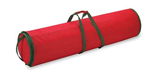 Geschenkpapier Organizer | Aufbewahrung für Geschenkpapier im Weihnachtsmotiv| Geschenkpapiertasche