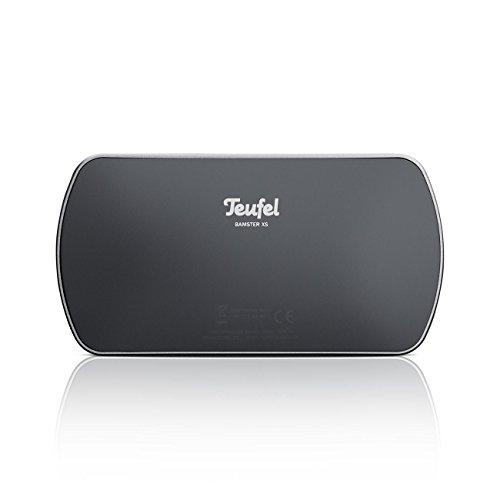Teufel BAMSTER XS Schwarz/Silber Streaming Bluetooth Lautsprecher Wireless Musik BT