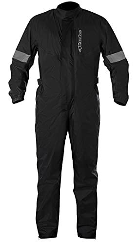 Alpinestars Men's Hurricane Rain Motorcycle Suit, Black, Medium