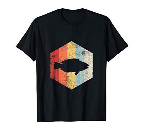 Stolzer Papageienfisch-Besitzer Retro, Papageienfisch-Liebha T-Shirt