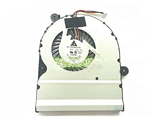 HuiHan Reemplazo para ventilador de CPU de refrigeración ASUS A401L K401LB5200 K401LB V405L A401UB