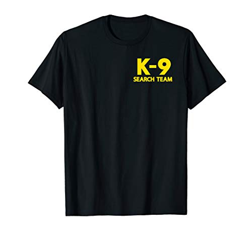 K9 Search Team Search and Rescue SAR Official Uniform T-Shirt