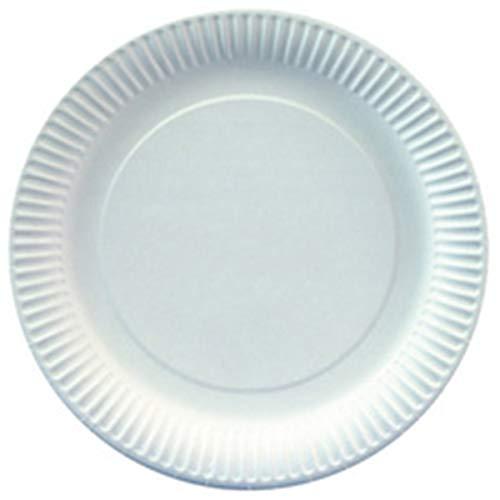 Papstar 90020 Lot de 100 assiettes jetables en carton 23 cm