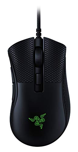 Razer DeathAdder v2 Mini Gaming Mouse: 8500K DPI Optical Sensor - 62g Lightweight Design - Chroma RGB Lighting - 6 Programmable Buttons - Anti-Slip Grip Tape Included - Classic Black