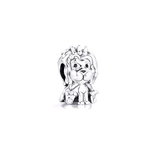 925 Sterling Silver Pandora Ladies Bracelet Jewelry Beads Wavy Union Jack Lion Charms Original Fit For Making Diy Kralen Glamour Girl Gift