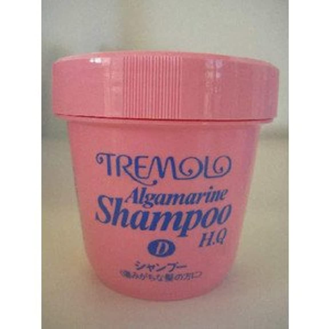 ブリーク世界的に交じるトレモロ アルグマリーン シャンプーQ ドライヘア用 1kg