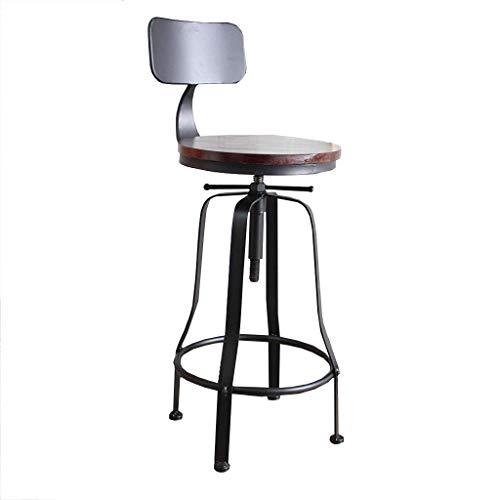 tabouret de bar DBL Tabouret Chaise Assemble Restaurants Chaises Assemblée Rapide Dynamic Design Easy House Café de l'homme Courbes Support en métal de Sharp Edges Bois de Fer