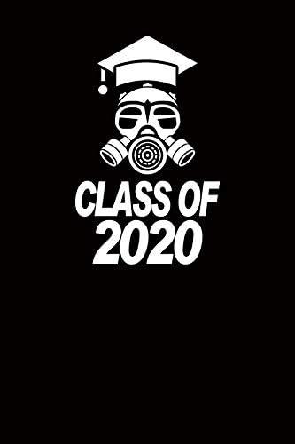 DORCEV 5x7ft Class of 2020 Graduation Photography Backdrop White Bachelor Cap Mask Background Graduation Ceremony Party Students Portraits Photo Shoot Studio Props