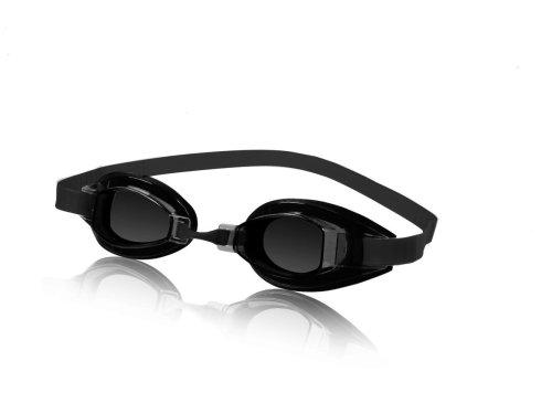 Speedo Unisex-Adult Swim Goggles Sprint Smoke, One Size