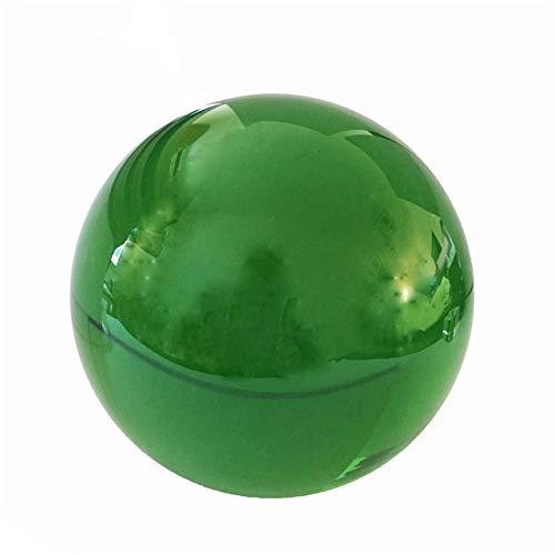 FISISZ K9 Lámpara De Araña De Color Bola De Cristal Bola De Lente Bola De Cristal Soporte para Esfera Fotografía Decoración Bola Decorativa para El Hogar Globo-60 Mm, Verde