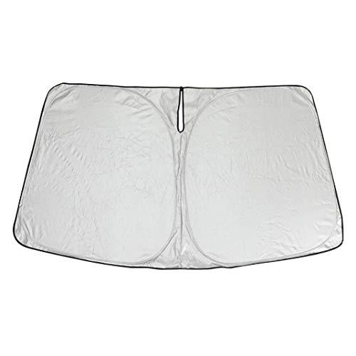Vrttlkkfe Parasol para parabrisas de coche, bloquea los rayos UV, plegable, para modelo 3 2017-2022