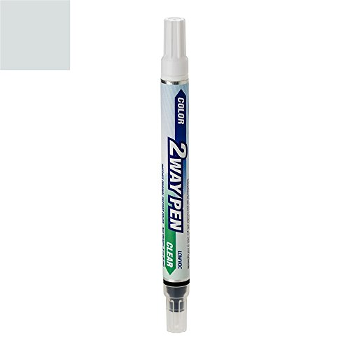 ColorRite Pen Automotive Touch-up Paint for BMW 3 - Glacier Silver Metallic A83 - Color+Clearcoat Package