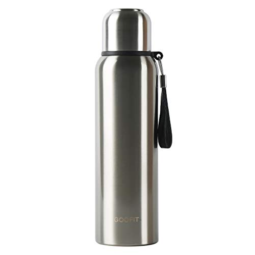 GOOFIT Outdoor Sports Bottle Stainless Steel Vacuum Sealed Insulated Thermos 27Oz
