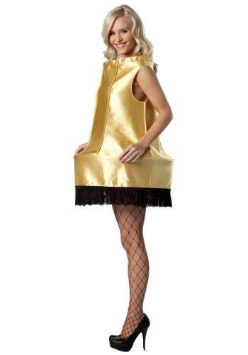 Rasta Imposta A Christmas Story Foam Leg Lamp Costume, Gold, One Size