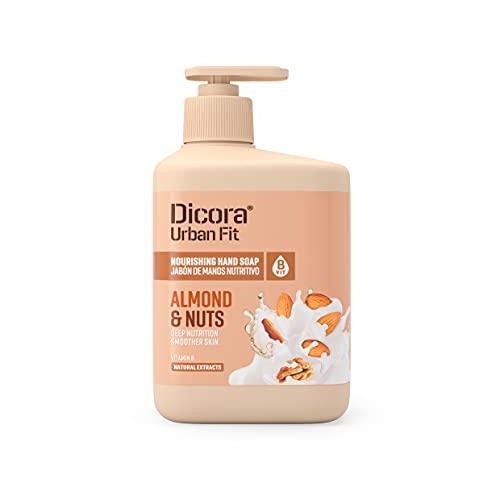 Dicora Urban Fit Jabón de Manos Vitamina B Almendras & Nueces 500 ml