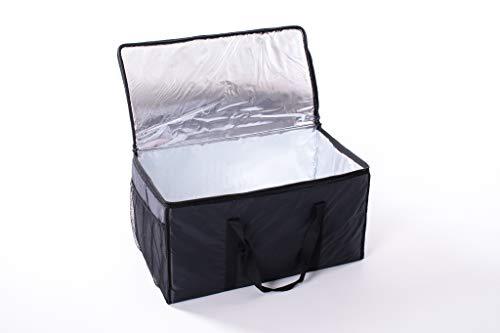 Bolsa térmica XXL para comida refrigerada, tamaño...