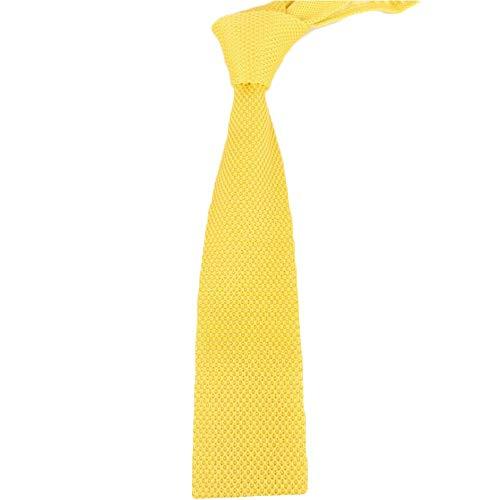 Tie Freizeit Spitz Lange Feste Farbe Wolle Krawatte Art und Weise Retro- Geschäfts Stricken Krawatte (Color : 13, Size : 148cm*7cm*4cm)
