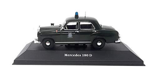 Mercedes DieCast Metall Miniaturmodelle Modellauto 1:43 180 D Polizei Deutschland 1953