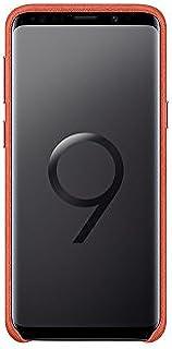 Samsung Galaxy S 9 Alcantara Cover Case, 5.8 inch for S9 SM-G960* EF-XG960AREGKR, Red