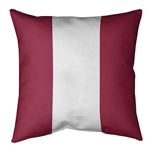 ArtVerse Katelyn Smith 20 x 20 Faux Suede Double Sided Print with Concealed Zipper /& Insert Arizona Canvas Pillow