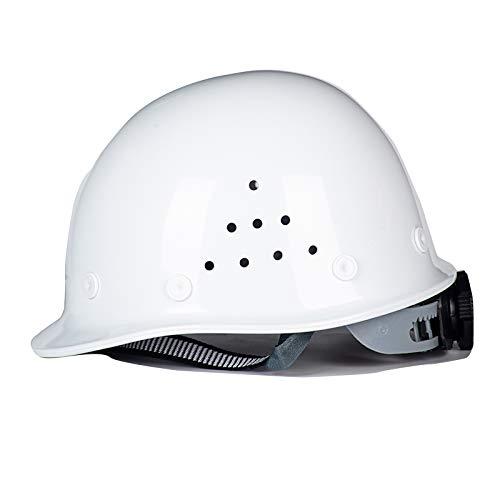 ZZXY Casco Seguridad, con suspensión de trinquete Ajustable de 4 Puntos, con Orificios de ventilación, para el Trabajo, el hogar y protección General para la Cabeza