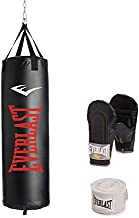 Everlast Dual-Station Heavy Bag Stand and 100lb Heavy Bag Kit Value Bundle