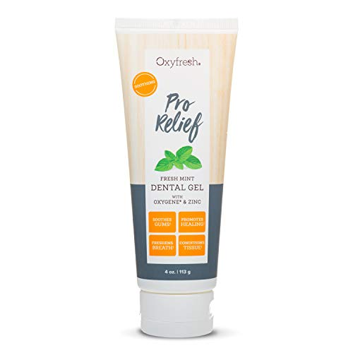 Oxyfresh Dental Gels –Infused with Aloe Vera, Natural Mint, and Xylitol – Dentist-Recommended to Help Soothe Tooth Sensitivity and Gum Tissue. 4 oz.