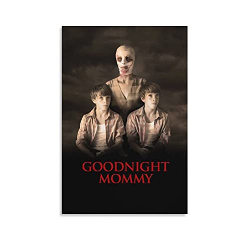XICHAO Goodnight Mommy Horror Movie Poster Wall Art Picture Painting Poster Canvas Print Posters Artworks Bedroom Living Room Decor 16×24inch(40×60cm)