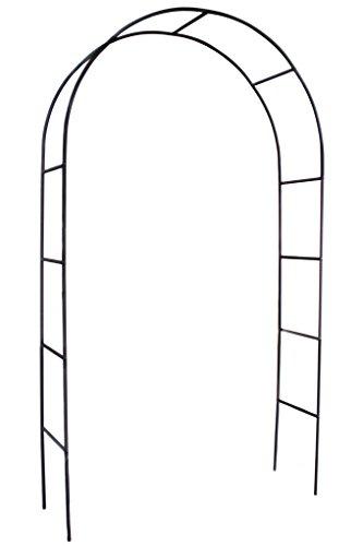 1.Go Steel Garden Arch, 7'8 High x 4'5 Wide, Garden Arbor for Various Climbing Plant, Outdoor Garden Lawn Backyard