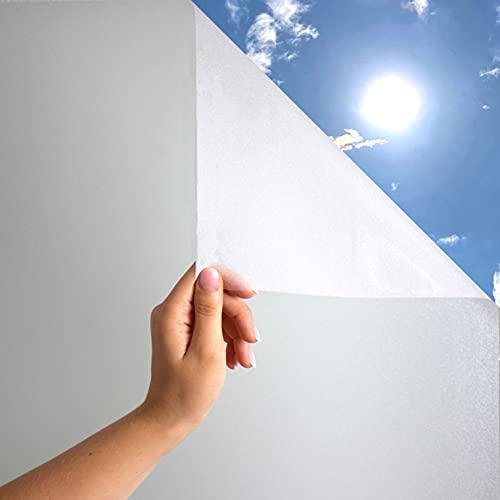 MARAPON Vinilos para Ventanas [105x400 cm] INKL. eBook - Película para Ventanas - vinilos Decorativos - Pegatinas para Ventanas con adherencia estática - Anti-UV para Cocina y Oficina