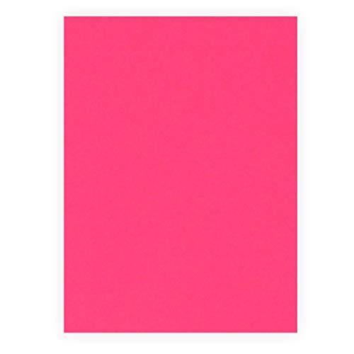 Plakatkarton 380g/m², 48x68cm 1 Bogen, leuchtorange