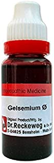 Dr. Reckeweg Germany Homeopathic Gelsemium Sempervirens Mother Tincture (Q) (20ml)