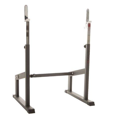 Finnlo Unisex-Adult Langhantel Trainingsstation Perfect Punch, anthrazit/Chrom, 210 x 103 x 171 cm