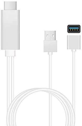 YOUBO Cable de HDMI para Samsung Galaxy iPhone 6 Nota 5/4/3 S5 Huawei P9 Micro USB A HDMI Cable Adaptador HDTV TV Conector