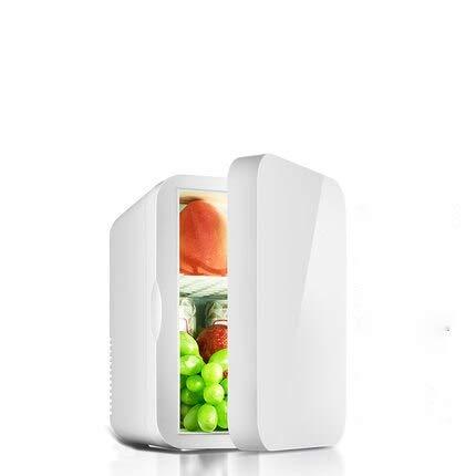 GNLIAN HUAHUA refrigerador Mini refrigerador pequeño 12V refrigerador de Coches 220V Puerta de una Sola Puerta Inicio Dual Uso Termoeléctrico Mini refrigerador Calentador